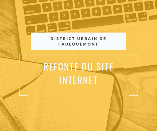 Refonte du site web du DUF (District Urbain de Faulquemont)